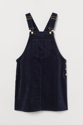 H&M MAMA Overall Dress - Blue