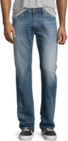 Diesel Larkee Faded Straight-Leg Jeans, Blue