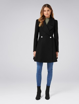 Ever New Hannah Fit and Flare Coat