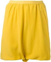 Rick Owens blended shorts - women - Silk/Acetate - 42