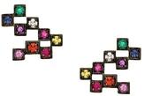 Jemma Wynne Revival Multi-Color Cube Stud Earrings