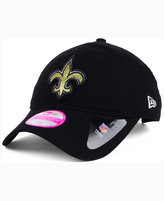 New Era Women's New Orleans Saints Team Glisten 9TWENTY Cap