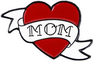 Make Heads Turn Enamel Pin Mom Tattoo