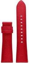 Michael Kors Access Women's Bradshaw Red Lizard Embossed Leather Smartwatch Strap MKT9006