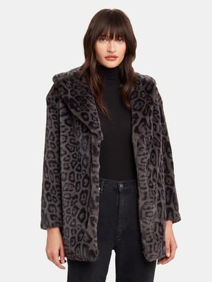 AllSaints Amice Oversized Leopard Jacket