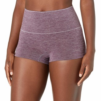 Mae Amazon Brand Women's Everyday Smoothing Shapewear Boyshort