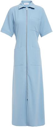 Hofmann Copenhagen Zip-detailed Crepe Midi Dress