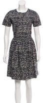 Chinti and Parker Printed Knee-Length Dress