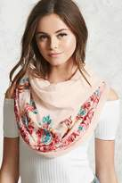 Forever 21 Paisley Embroidered Scarf