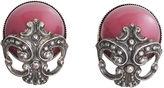 One Kings Lane Vintage 1950s Napier Red Moonglow Earrings