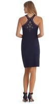 White House Black Market Sleeveless Studded Shift Dress