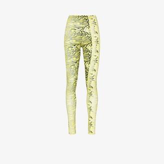 MAISIE WILEN Body Shop graphic-print leggings