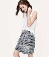 LOFT Home /a> Skirts Petite Mosaic Stroll Skirt Petite Mosaic Stroll Skirt
