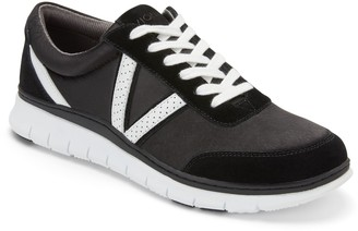 Vionic Satin Lace-Up Sneakers - Nana