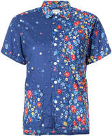 Engineered Garments floral short sleeved shirt