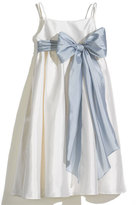 Us Angels Girl's A-Line Dress With Sash