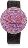 Clou Dinner Watch With Pink Sapphires