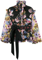 Preen by Thornton Bregazzi puffer jacket with detachable sleeves