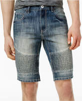 INC International Concepts Men's Medium Wash Moto Jean Shorts, Only at Macy's