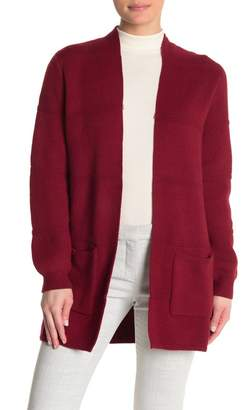 Joseph A Textured Open Front Cardigan