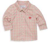 Tartine et Chocolat Baby's Check Cotton Collared Shirt