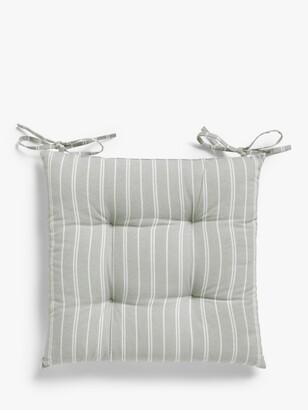 John Lewis & Partners Stripe Seat Pad