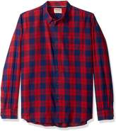 Wrangler Men's Authentics Long Sleeve Premium Plaid Shirt