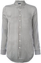 Polo Ralph Lauren striped shirt - women - Mulberry Silk - 6