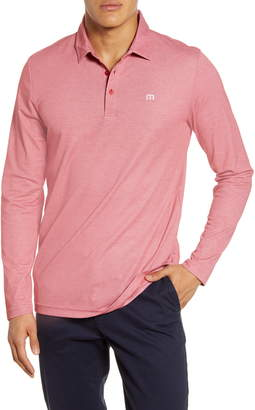Travis Mathew TravisMathew Roundabout Long Sleeve Polo Shirt