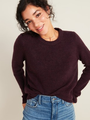 Old Navy Cozy Textured Crew-Neck Sweater for Women