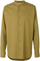 Stella McCartney collarless shirt - men - Cotton - 40