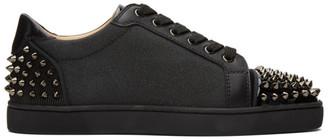 Christian Louboutin Black Seavaste 2 Sneakers