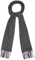 J By Jasper Conran Grey And Blue Reversible Scarf