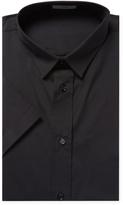 Christian Dior Men's Solid Cotton Dress Shirt