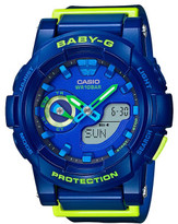Baby-G Baby G Baby G Duo Vivid Colors W/Time,1/100 S