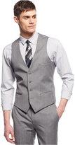 Bar III Light Grey Extra-Slim-Fit Vest