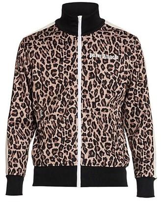 Palm Angels Leopard Track Jacket