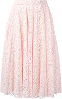 No.21 pleated skirt - women - Cotton/Polyamide/Acetate/Silk - 42