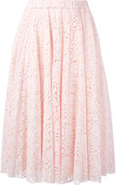 No.21 pleated skirt