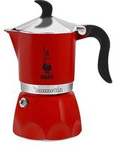 Bialetti 3 Cup Fiammetta, Red