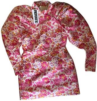 Rotate by Birger Christensen Beige Cotton Dresses