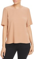 Eileen Fisher Short-Sleeve Boxy Top