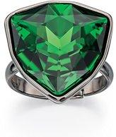Fiorelli Costume R3398, Green Swarovski Crystal Statement Adjustable Ring