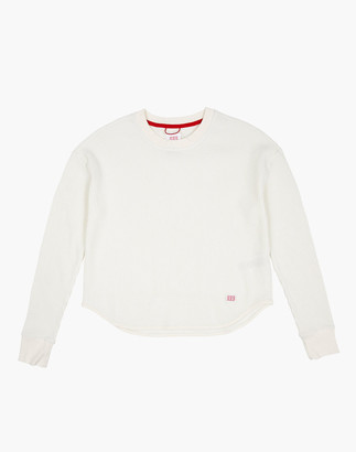 Madewell Topo Designs Women's Long-Sleeve Waffle Tee
