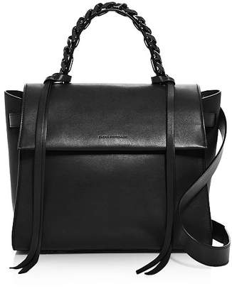 Elena Ghisellini Angel Sensua Small Leather Satchel