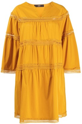 Steffen Schraut Embroidered Shift Dress