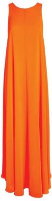 Halpern Georgette Trapeze Gown