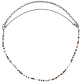 Bottega Veneta Tiger's-eye stone necklace