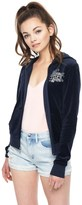 "Juicy Couture LIMITED EDITION Disney Beauty & the Beast ""Stained Glass Rose"" Embellished Robertson Jacket"