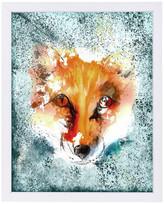 "Americanflat Fox Wild Animal Mammal, 19""H x 25""W x 1""D"